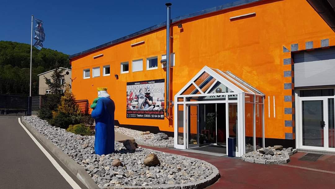 Eingangsbereich Kart Center Heiligenstadt